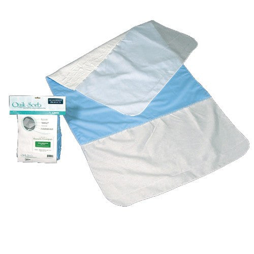 "Essential QuikSorb Reusable Underpad with Tucks 36"" x 36"""
