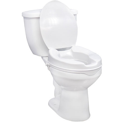 Buy Heavy-duty Raised Toilet Seat by Drive Medical from a SDVOSB | Raised Toilet Seats