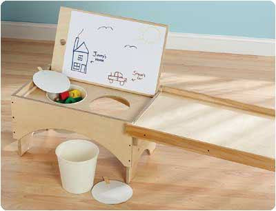 Ramp and Table Activity Set - Sensory Motor Integration Products - Mountainside Medical Equipment