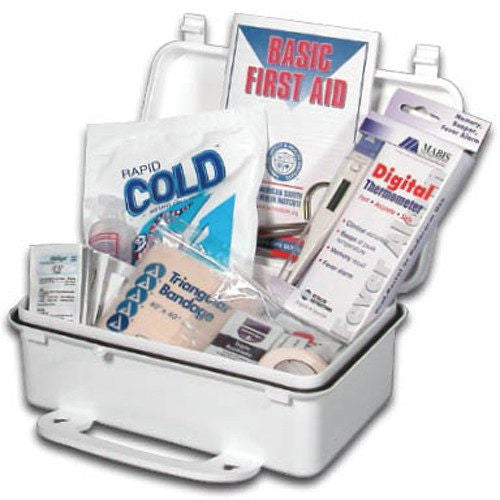 Buy Basic First Aid Kit online used to treat First Aid Supplies - Medical Conditions
