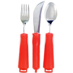 Buy Power of Red Bendable Utensil Set by Essential Medical Supply | SDVOSB - Mountainside Medical Equipment