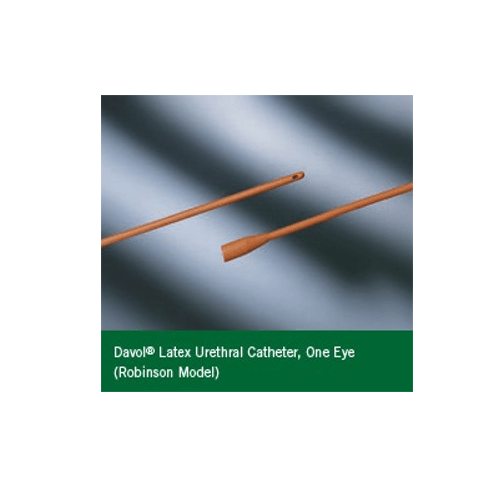 Red Rubber Robinson Catheter with 1 Eye