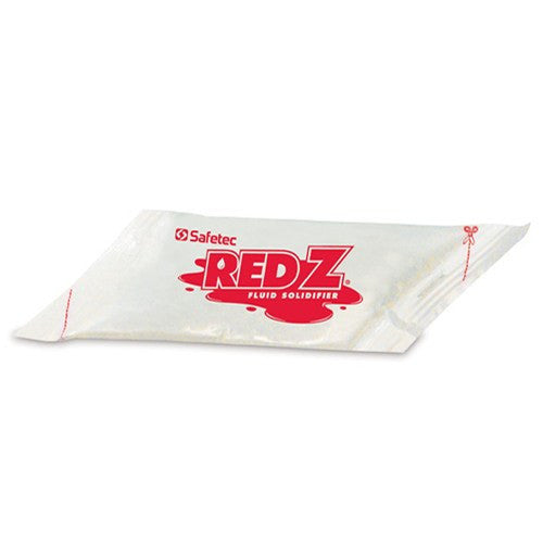Red-Z Fluid Control Solidifier, Angled Diamond Pouches for Fluid Control Solidifiers by Safetec | Medical Supplies