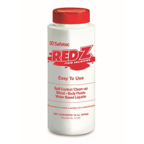 Red Z Spill Control Solidifier Shaker Bottle 15 oz