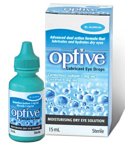 Refresh Optive Lubricant Eye Drops 2 x 15 mL