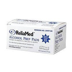 Buy Reliamed Alcohol Prep Pads 100/box by ReliaMed from a SDVOSB | Alcohol Prep Pads