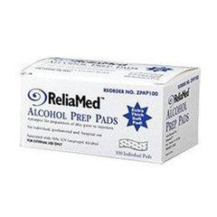 Buy Reliamed Alcohol Prep Pads 100/box by ReliaMed online | Mountainside Medical Equipment