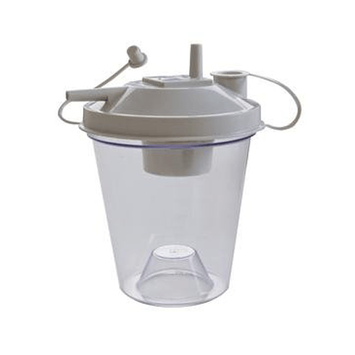 ReliaMed 800cc Suction Canister with Floater Top & Lid - Suction Canisters - Mountainside Medical Equipment