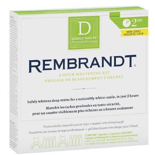 Rembrandt 2-Hour Deeply White Teeth Whitening Kit
