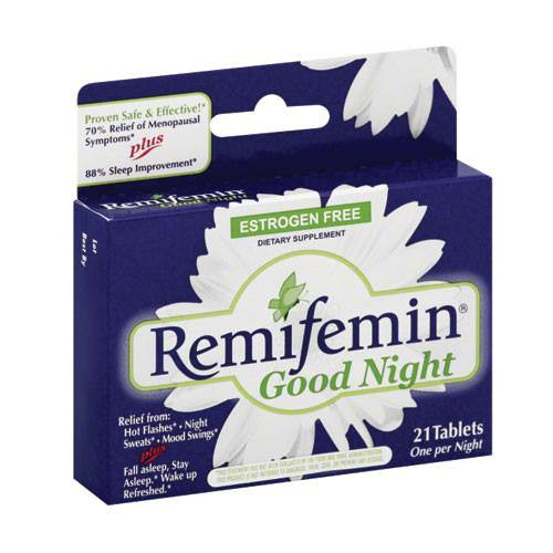 Remifemin Good Night 21 with Menopause Symptom Relief