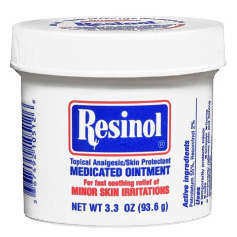 Buy Resinol Medicated Skin Ointment Unscented 3.3 oz Jar used for Skin Care by Rochester Drug