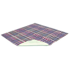 "QuikSorb Plaid Reusable Underpad 34' x 36"" for Underpads by Essential 