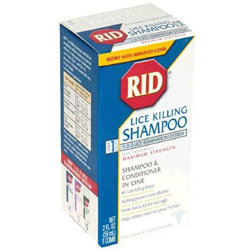 RID Lice Killing Shampoo 59 mL