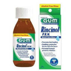 G-U-M Rincinol P.R.N. Sore Mouth Rinse 120 mL for Sore Throat by Sunstar Americas | Medical Supplies