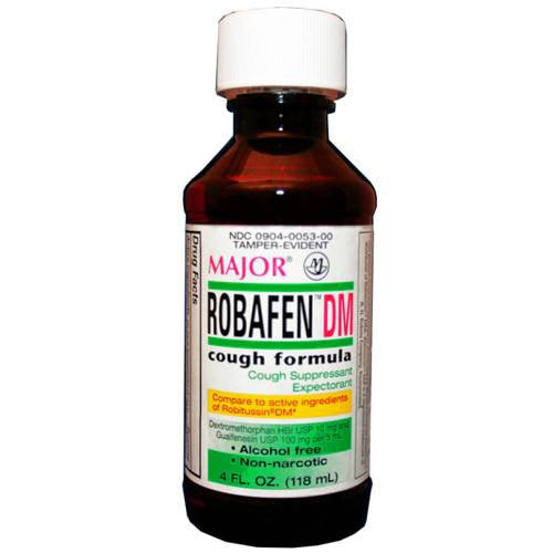 Buy Robafen Cough Syrup Medicine 8 oz online used to treat Cough Suppressant - Medical Conditions