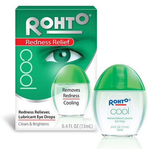 Rohto Cool Redness Relief Eye Drops 13mL for Eye Products by Mentholatum Company | Medical Supplies