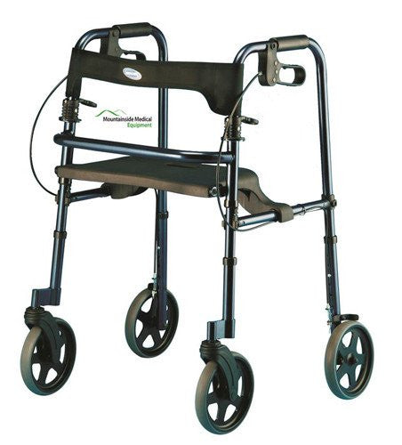 "Invacare Rollite Tall Rollator with 8"" Wheels"