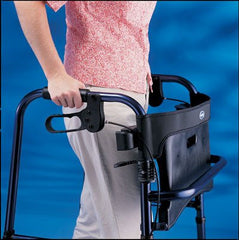 Buy Invacare Rollite Adult Rollator, Blue & Black used for Rollators and Walkers by Invacare