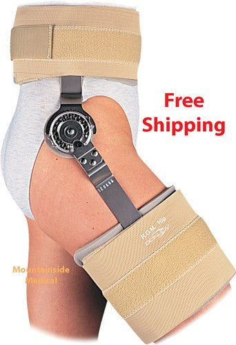 Donjoy ROM Hip Brace - Universal Size - Hip Braces - Mountainside Medical Equipment