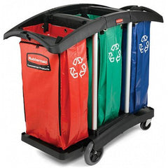 Rubbermaid Triple-Capacity Clean Cart for Cleaning & Maintenance by Rubbermaid | Medical Supplies