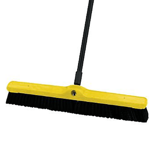 "Rubbermaid Stiff Polypropylene Floor Sweep Broom Head Only, 24"" - Cleaning & Maintenance - Mountainside Medical Equipment"