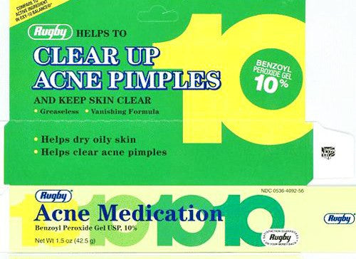 Benzoyl Peroxide Acne Gel 10% Tube 1.5 oz