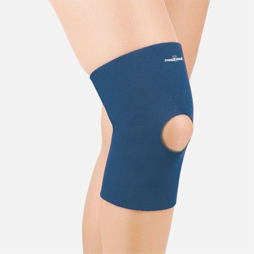 Safe-T-Sport Thermal Neoprene Knee Sleeve, Open Patella