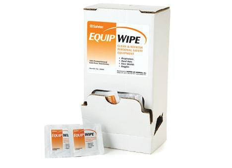 Buy Equipment Cleaning Wipes, Premoistened 100/Box by Safetec from a SDVOSB | Disinfectant Wipe