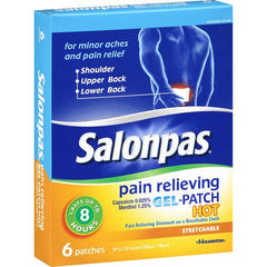 Buy Salonpas Pain Relieving Hot Patches by Salonpas online | Mountainside Medical Equipment
