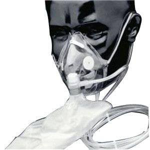 Buy Salter Labs Elongated Non Rebreathing Oxygen Mask by Salter Labs from a SDVOSB | Oxygen Masks