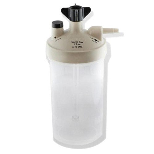 Buy Salter Labs High Flow Bubble Humidifier Bottle 6 to 15 LPM with 6 PSI by Salter Labs | SDVOSB - Mountainside Medical Equipment