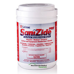 Buy Sanizide Pro Surface Disinfectant Wipes 160ct by Safetec | Disinfectant Wipe