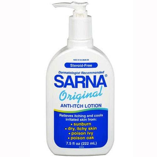 Sarna Original Anti Itch Lotion 7.5 oz for Skin Care by GlaxoSmithKline | Medical Supplies