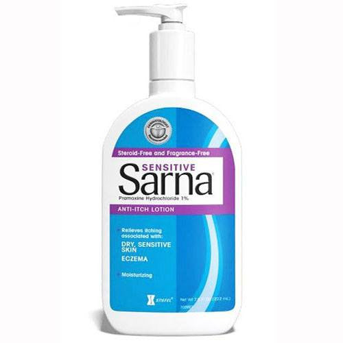 Buy Sarna Sensitive Anti Itch Lotion 7.5 oz online used to treat Dry Skin Relief - Medical Conditions
