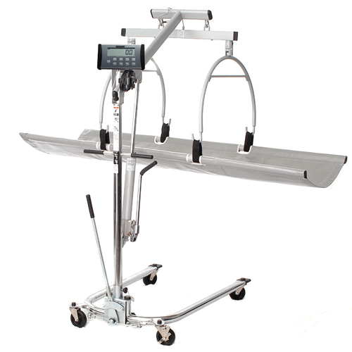 Digital In-Bed Stretcher Scale (400 lbs. Weight Capacity) - Scales - Mountainside Medical Equipment