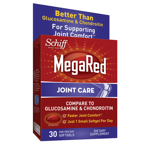 MegaRed Krill Oil Joint Care Softgels, 30ct