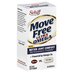 Buy Move Free Ultra Omega Joint Supplement with Omega-3 Krill Oil, 30 Count online used to treat Joint Care - Medical Conditions