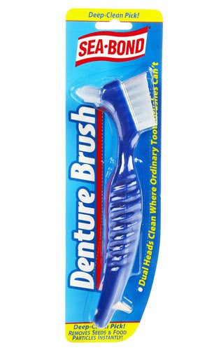 Buy Sea Bond Denture Brush by Combe | Home Medical Supplies Online