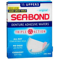 Buy Sea-Bond Upper Denture Adhesive Wafers online used to treat Oral Care Products - Medical Conditions