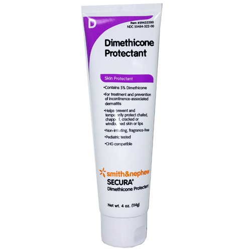Secura Dimethicone Protectant Skin Cream - Skin Protectant Barrier - Mountainside Medical Equipment