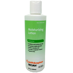 Secura Moisturizing Lotion 8 oz Bottle for Skin Care by Smith & Nephew | Medical Supplies