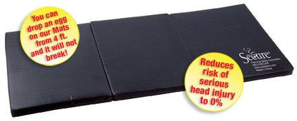 Buy Bedside Fall Mat Tri-Fold 30 x 60 x 2 by Personal Safety Corporation | SDVOSB - Mountainside Medical Equipment