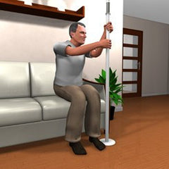 Stander Home Security Standing Pole for Fall Prevention by Stander | Medical Supplies
