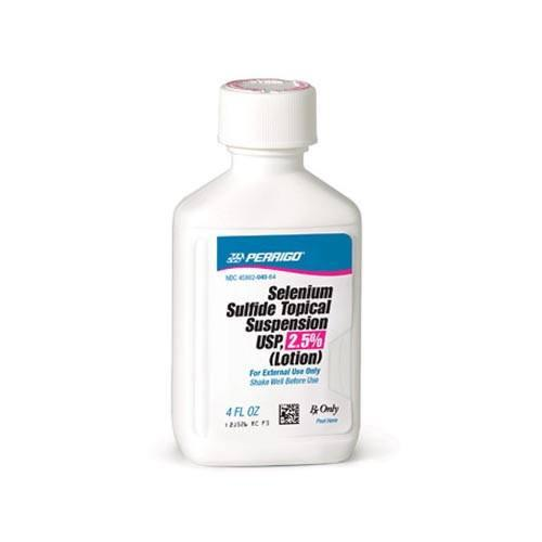 Selenium Sulfide Lotion 2.5% - Antimitotic agent - Mountainside Medical Equipment