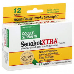 Buy SenokotXtra Double Strength Natural Vegetable Laxative by Purdue Pharma from a SDVOSB | Laxatives