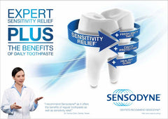 Buy Sensodyne Cool Gel Toothpaste for Sensitive Teeth by GlaxoSmithKline from a SDVOSB | Dentists