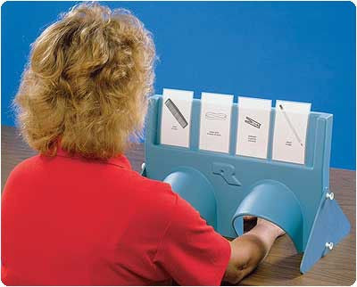 Sensory Testing Shield for Sensory Stimulation Activities by Patterson Medical | Medical Supplies