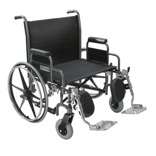 Sentra Extra Wide Bariatric Wheelchair - Bariatric Wheelchair - Mountainside Medical Equipment