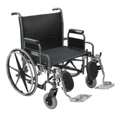 Buy Sentra Extra Wide Bariatric Wheelchair by Drive Medical from a SDVOSB | Wheelchairs
