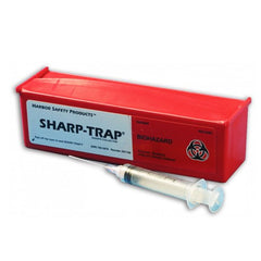 Buy Sharp Trap Needle Syringe Disposal Container Box by Harbor Safety Products online | Mountainside Medical Equipment